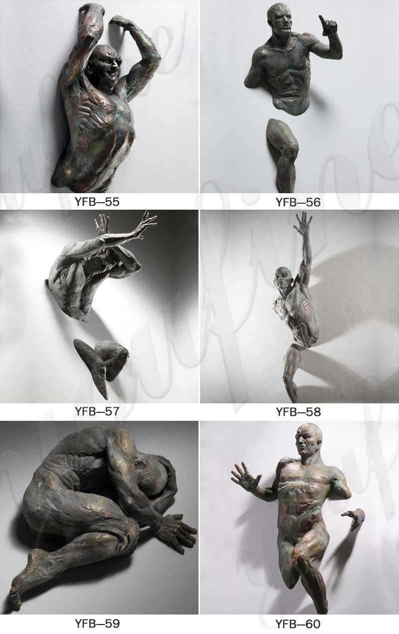 popular design brozne matteo pugliese statue