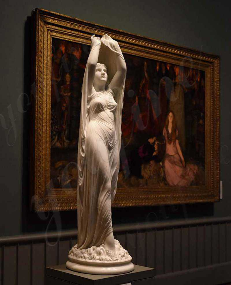 the-veiled-virgin statue