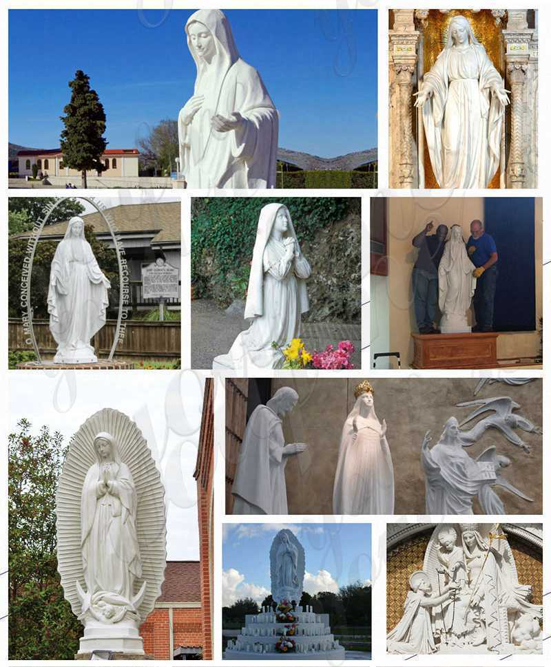virgin mary statue outdoor for sale