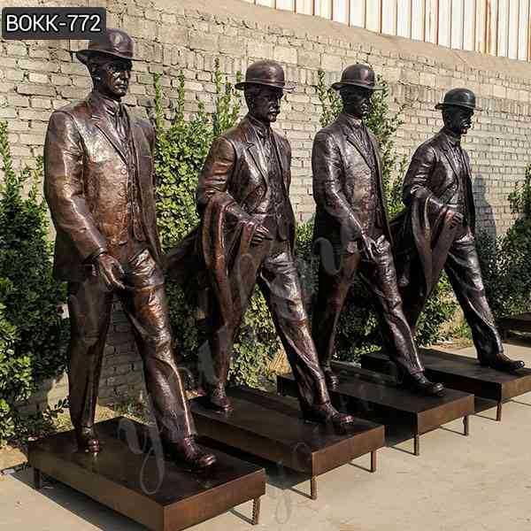 Bronze Wilbur and Orville Wright Sculpture