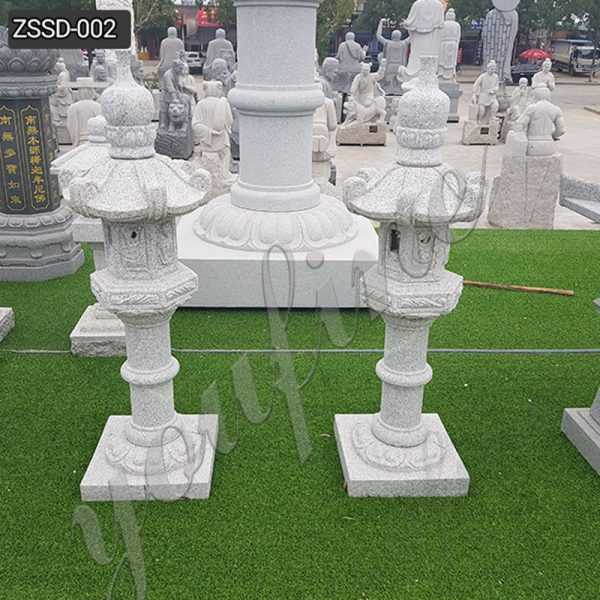 Custom Made Outdoor Granite Tower Lantern for Sale ZSSD-002