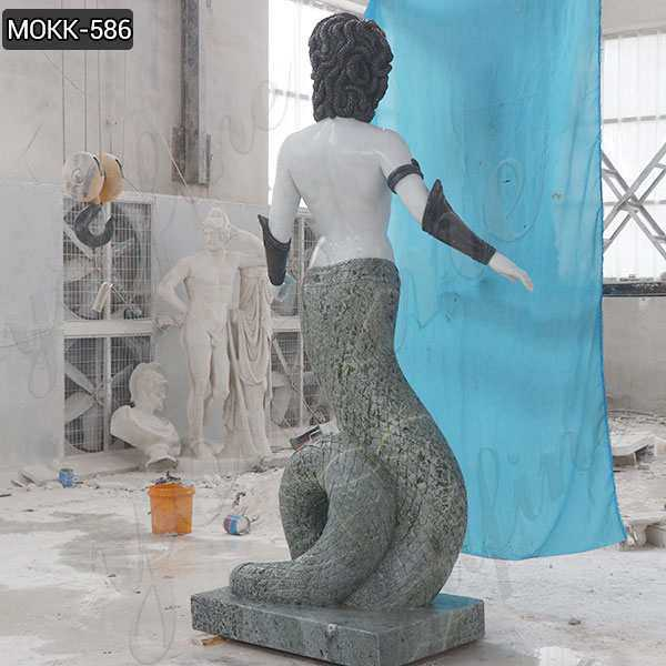 Custom Made Large Greek Medusa Marble Statue