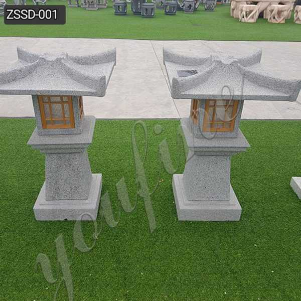 New Design Granite Stone Lamp for Outdoor Garden Decor Supplier ZSSD-001
