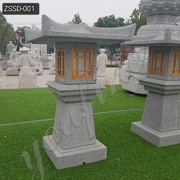 Granite Stone Lamp for Outdoor Garden Decor Supplier