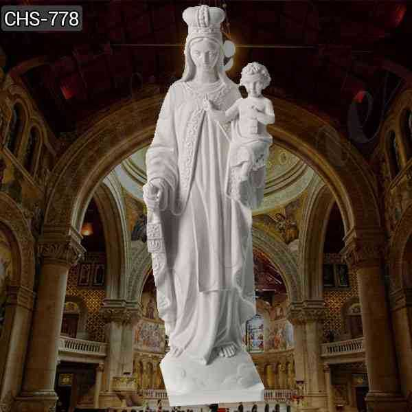 Life Size Our Lady of Mount Saint Carmel Marble Statue for Sale CHS-778