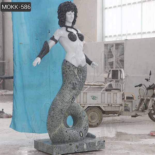 Large Greek Medusa Marble Statue for Sale MOKK-586