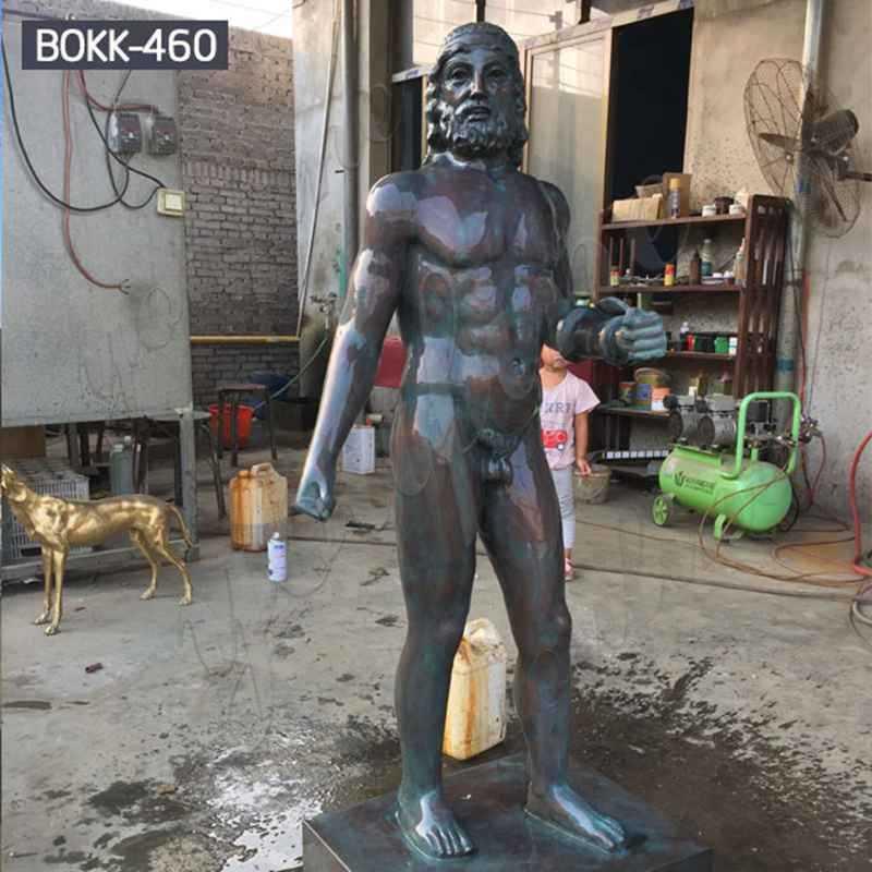 Life Size Nude Man Statue Bronze Fine Art Sculptures Manufacturer