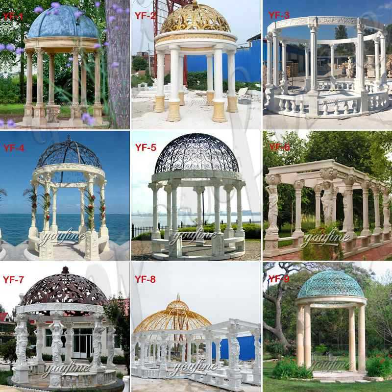 Marble Gazebo for Wedding Decorations on Sale