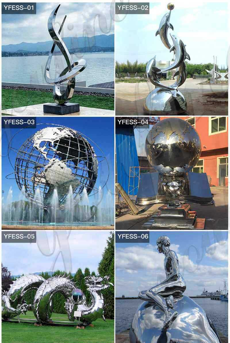 Modern Abstract Stainless Steel Sculpture Supplier