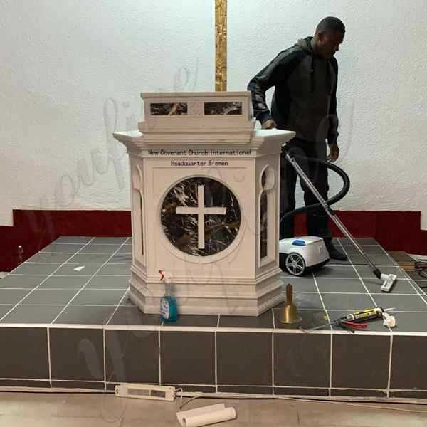 Modern Church Pulpit Design Made for Our German Customer