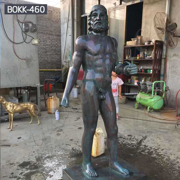 Nude Man Statue Bronze Fine Art Sculptures Manufacturer