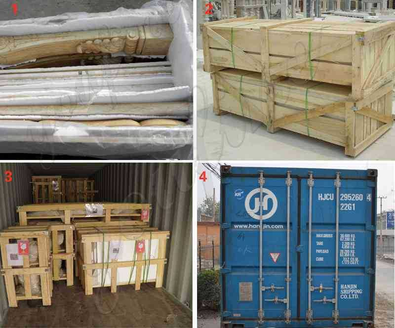 The Packing of Marble columns