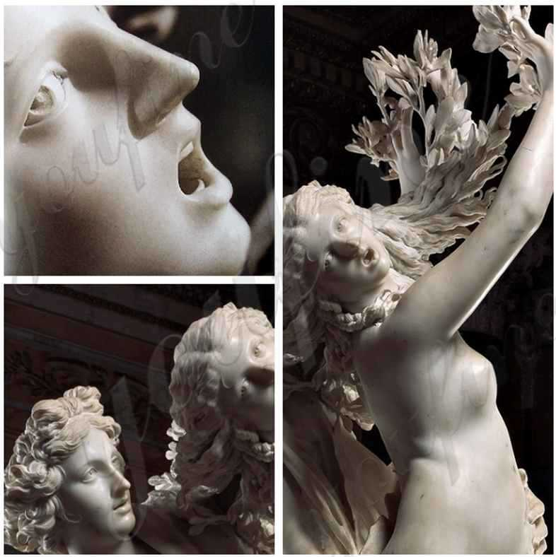 White Marble Famous Apollo and Daphne Statue Replica for Sale