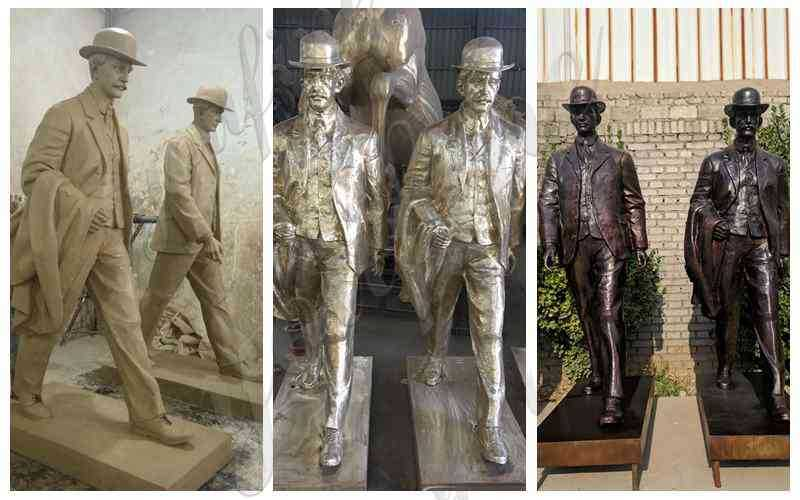 Wilbur and Orville Wright Group Sculpture for sale