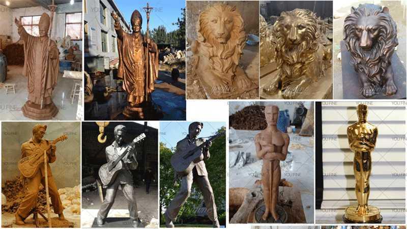 bronze fine art sculptures for sale