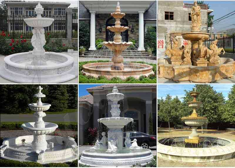 cast stone fountains wholesale