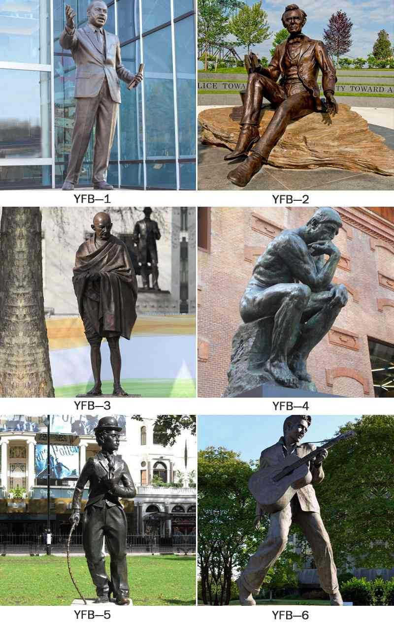 famous bronze staute