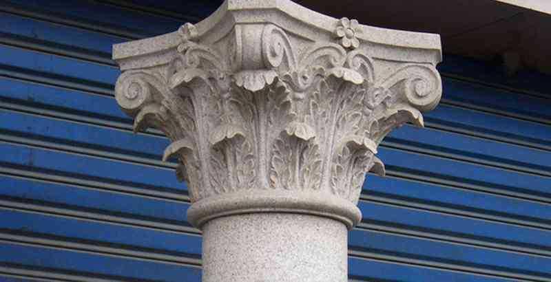 greek Corinthian order column for sale