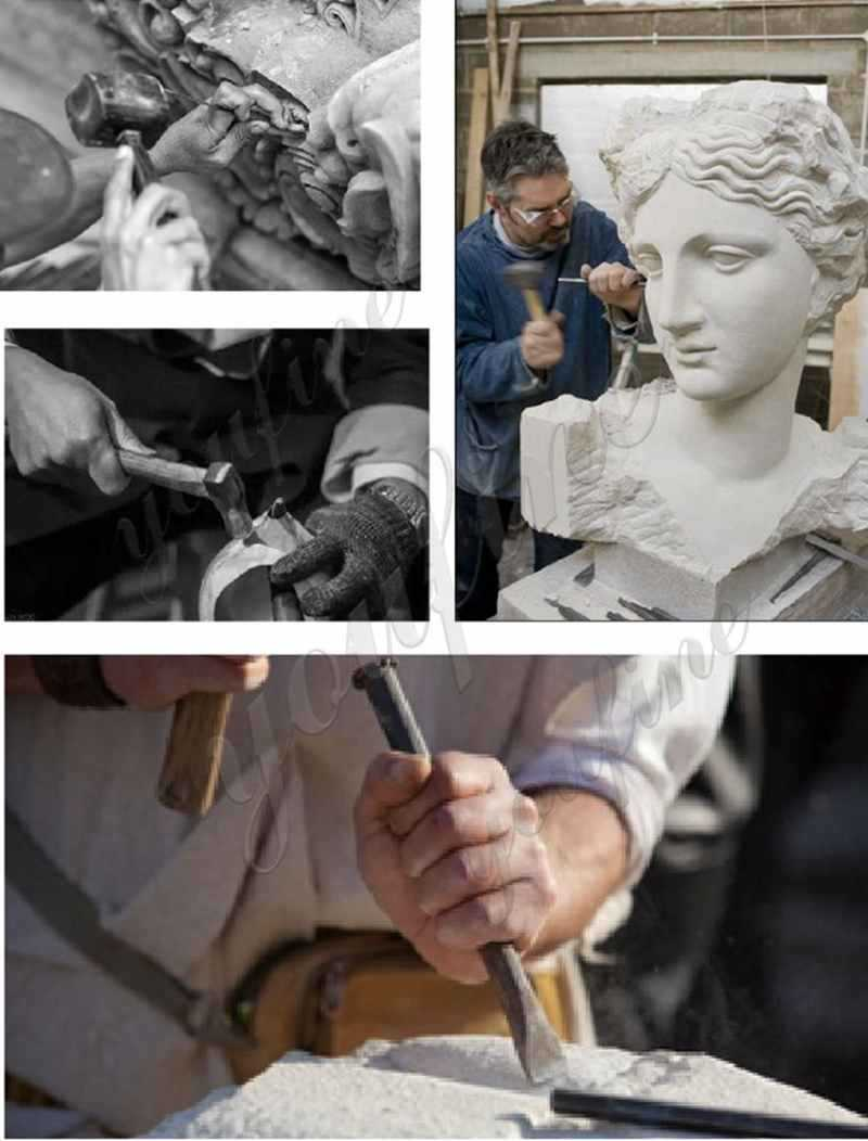 process of famous marble sculpture for sale