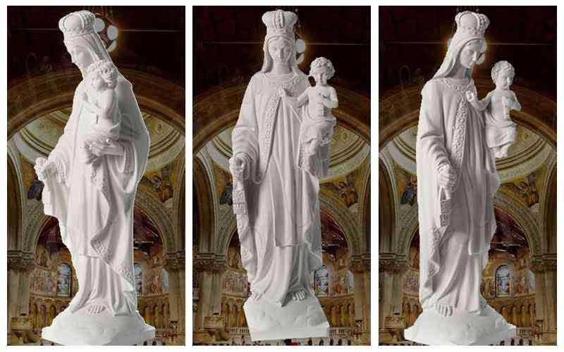 statue of mount saint carmel