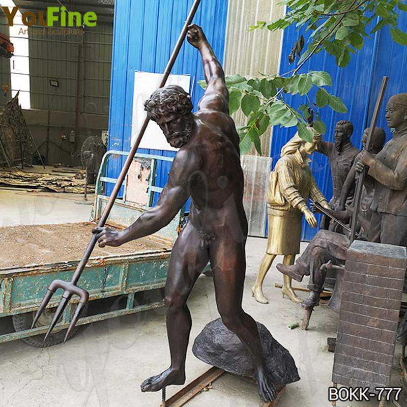 Buy Famous Greek Casting Bronze Life Size Poseidon Statue BOKK-777