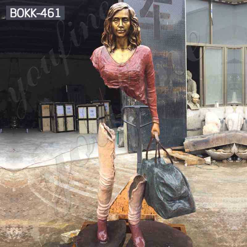 Custom Made Bronze Bruno Catalano Travelers Sculpture for Sale BOKK-461