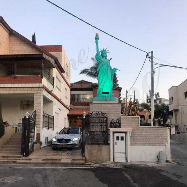 Custom Made Large Statue of Liberty The Feedback from Israel Customer