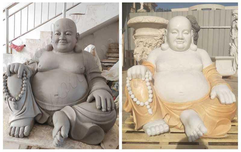 High Quality Sitting Maitreya Buddha Marble Statue Supplier
