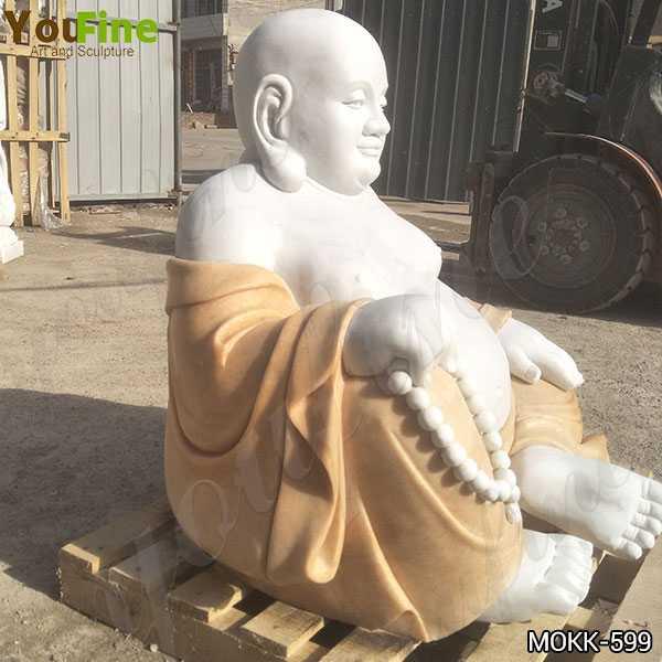 High Quality Sitting Maitreya Buddha Marble Statue