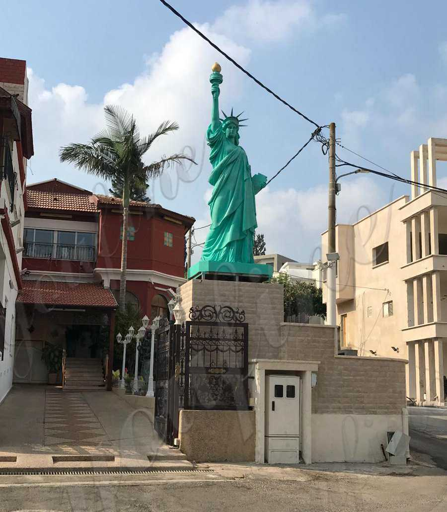 Large Statue of Liberty The Feedback from Israel Customer
