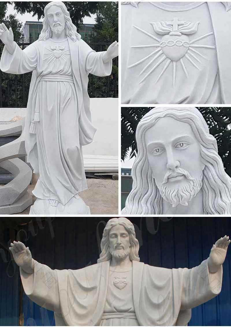 Life Size Religious Jesus Marble Statue for Sale