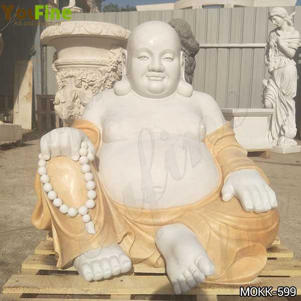 High Quality Sitting Maitreya Buddha Marble Statue Supplier MOKK-599