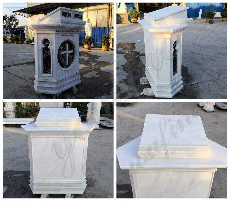 Marble Pulpit for Catholic Church Decor Supplier