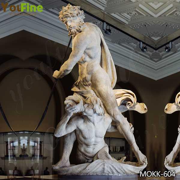 Replica of Neptune and Triton Marble Sculpture By Bernini