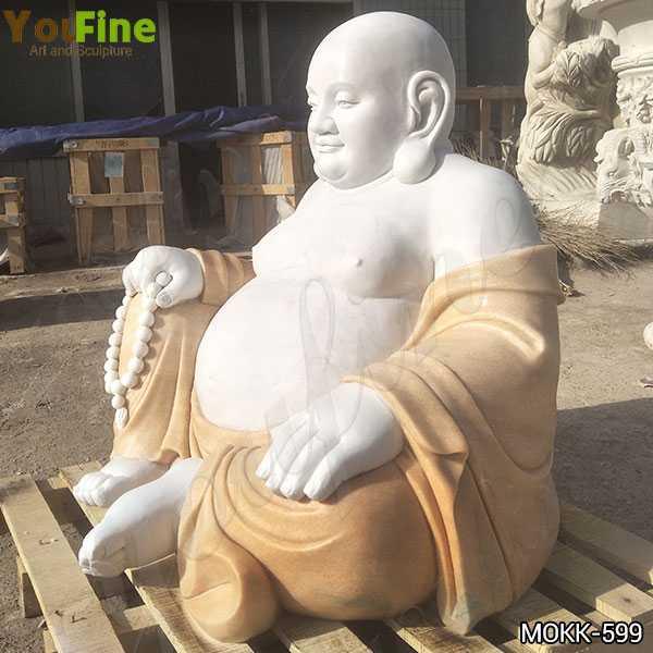 Sitting Maitreya Buddha Marble Statue