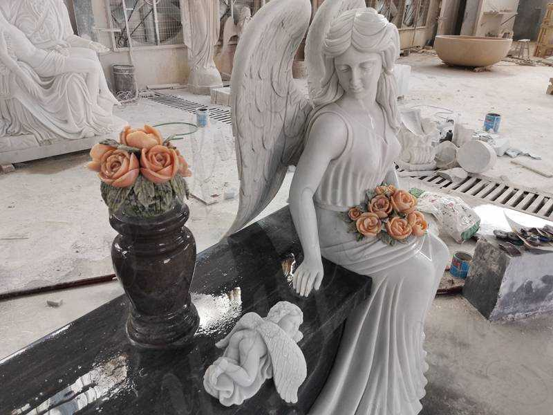 angel tombstones designs