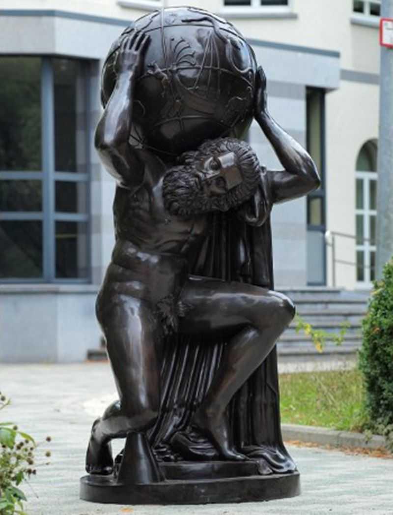 bronze-atlas-garden-statue