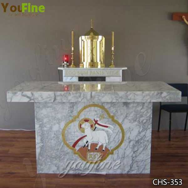 High Quality Modern Church Marble Altar Table Design for Sale CHS-353