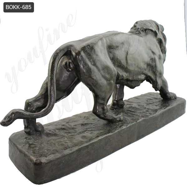 Antique Bronze Lion Statue for Home