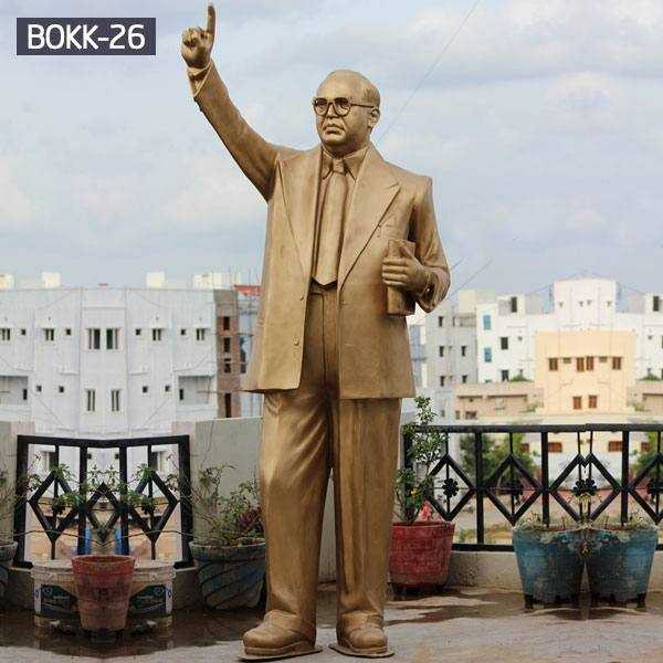 Why is Bronze Dr.B.R. Ambedkar Statue very famous in India