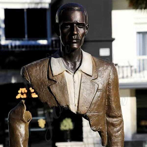 Feedback Large Bronze Bruno Catalano Sculpture from Our Customer
