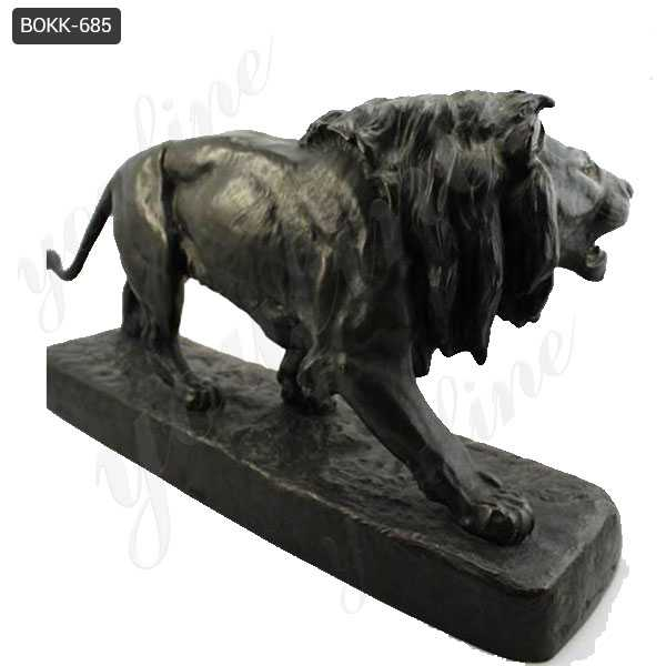 Bronze Lion Statue for Home Decor Wholesale