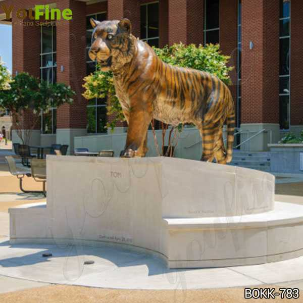 Bronze Tiger Statue for Sale