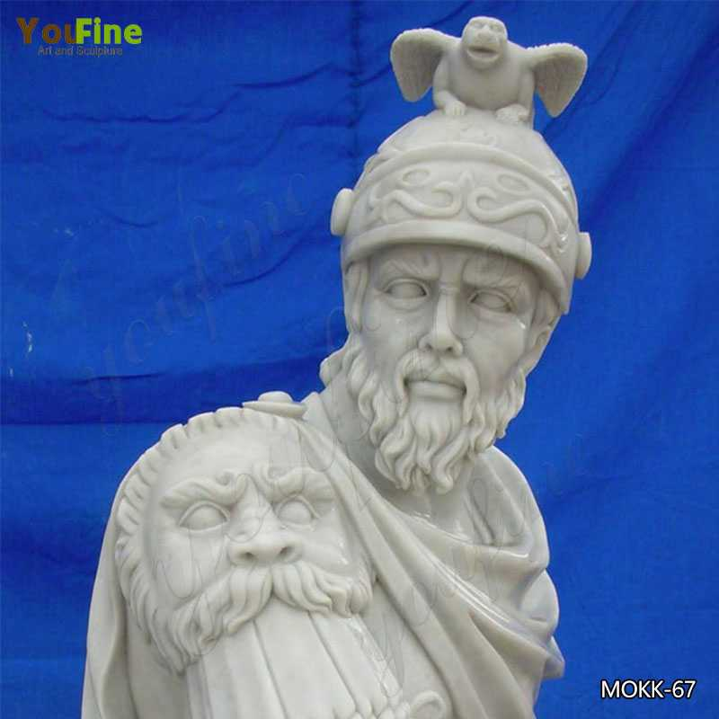 Famous Roman Marble Statues of Warriors for Sale MOKK-67