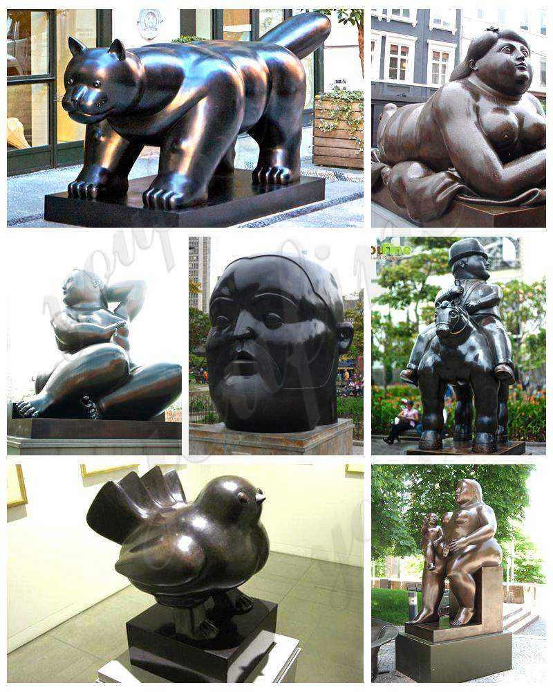 Fernando Botero Sculpture Supplier