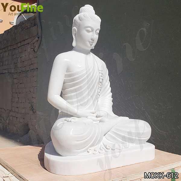 Large Marble Buddha Statue