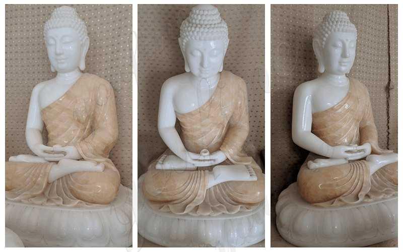 Large Marble Buddha Statue_