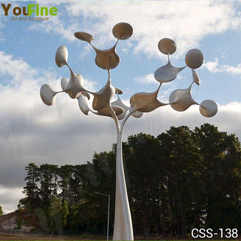 Large Metal Tree Sculpture Outdoor Stainless Steel Sculpture Supplier