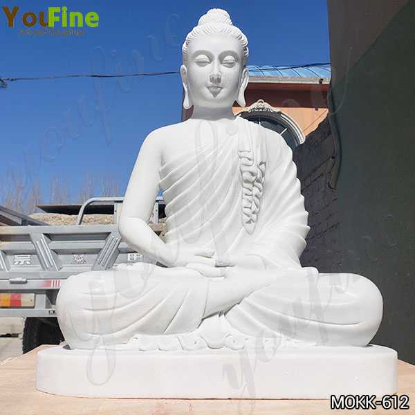 Marble Garden Meditating Buddha Statue for Sale MOKK-612