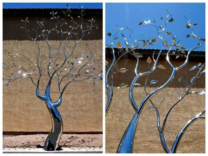 Metal Tree Sculptures For Sale